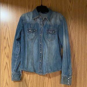 The Gap- Jean shirt
